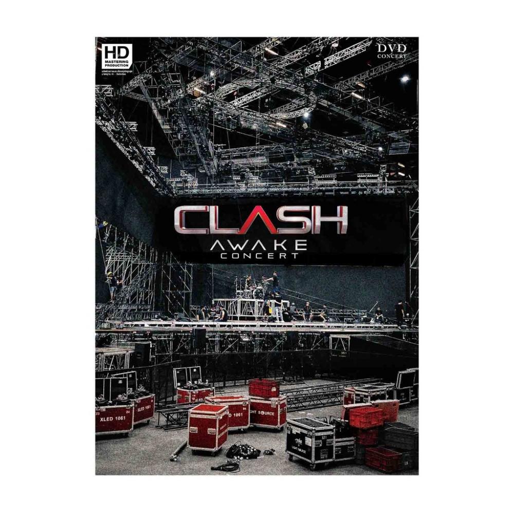 DVDบันทึกการแสดงสดCLASH AWAKECONCERT P.2