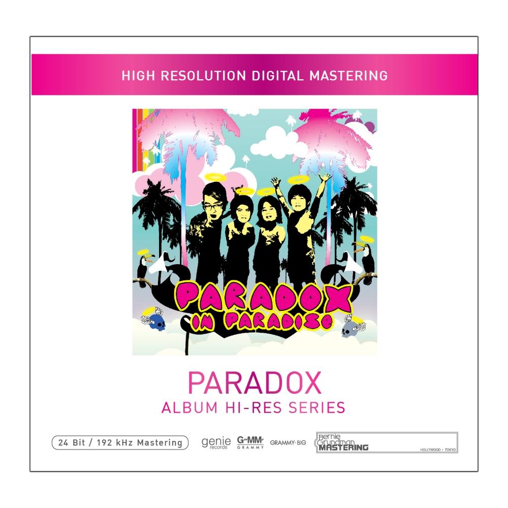 CD Paradox in paradise Album Hi-res Seri