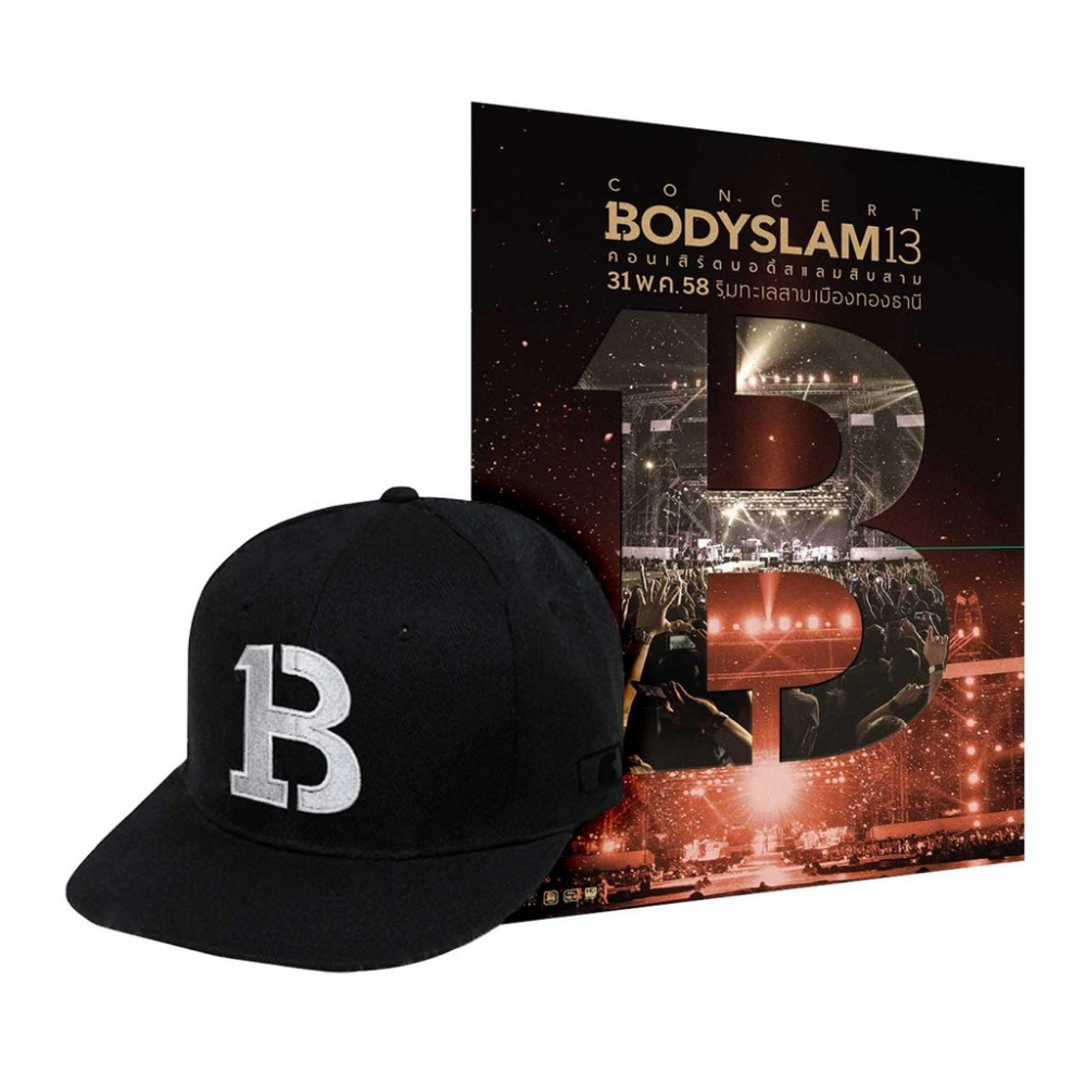 DVD Bodyslam 13 Live Concert (P.2)+หมวก