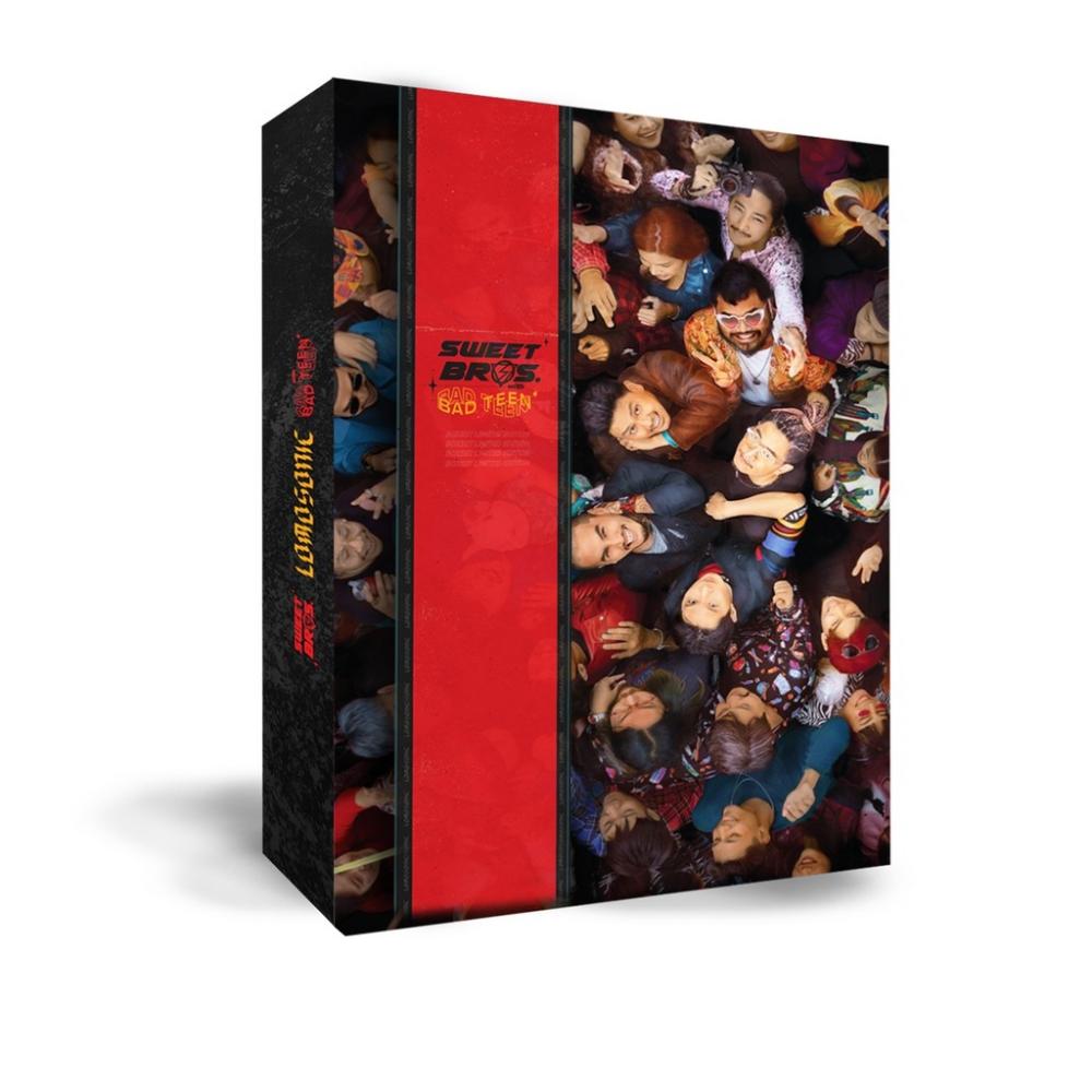 BX CD Lomosonic/Sweet Bros. with Bad Tee