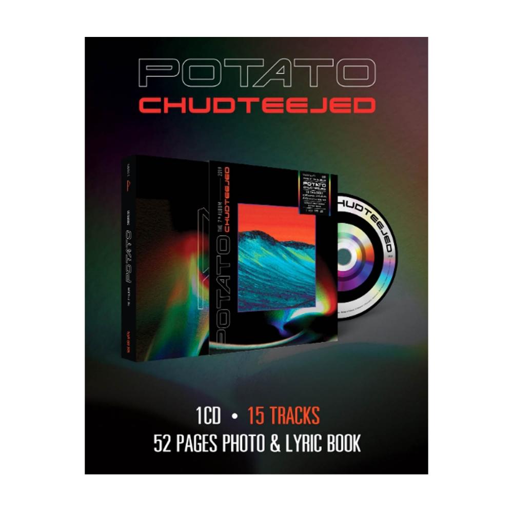 CD Potato อัลบั้มชุดที่เจ็ด chudteejed