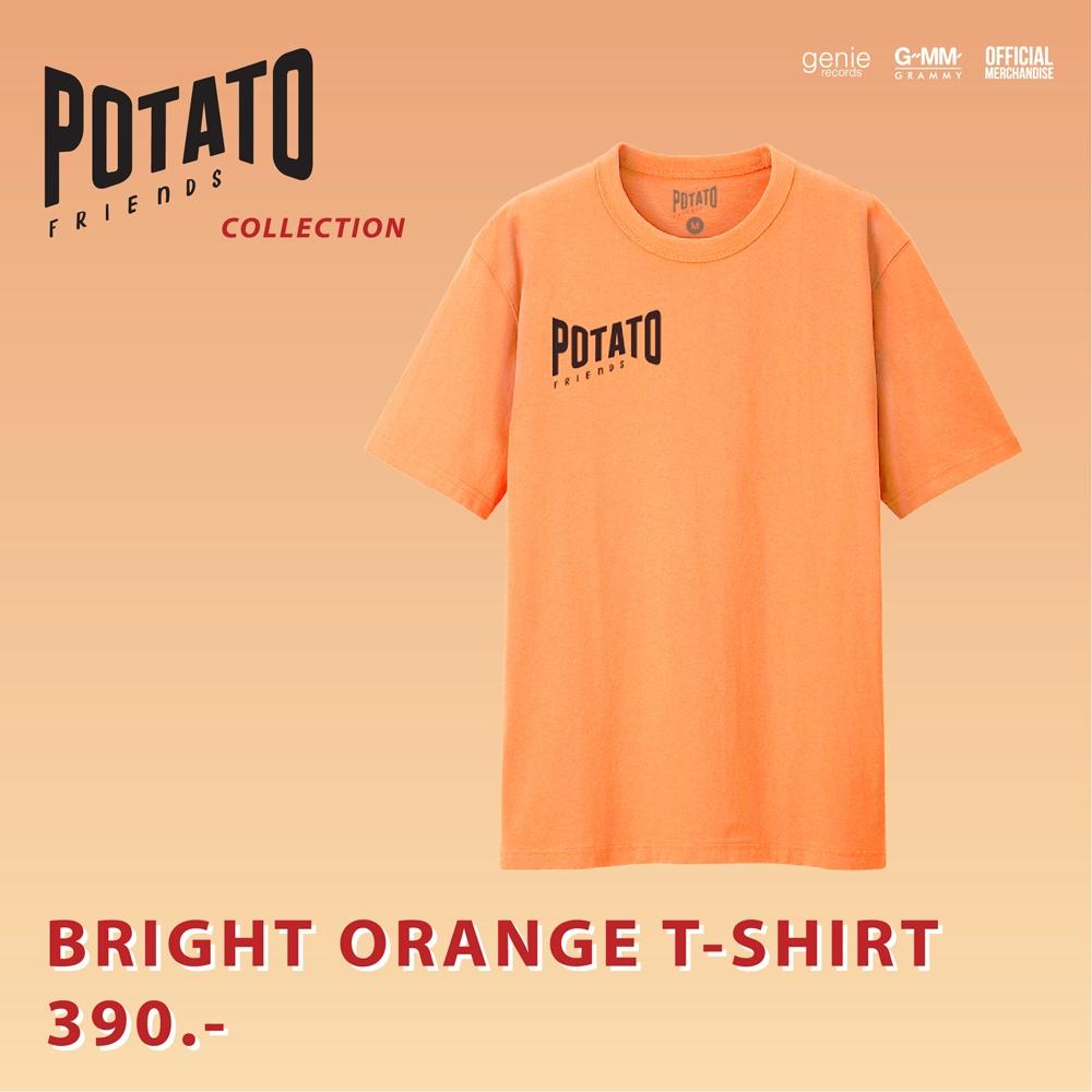 Friends T-shirt (Bright Orange) #POTATO