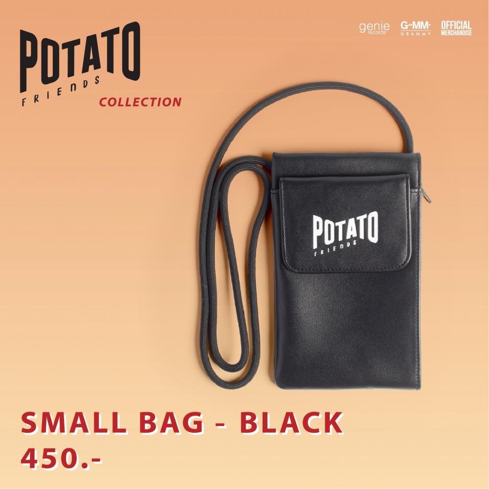 SMALL BAG-BLACK #POTATO