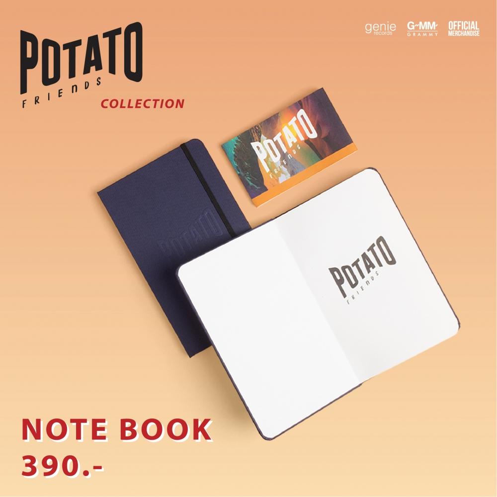 Note Book POTATO Friends #POTATO