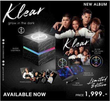 BoxSet CD Klear Grow In The Dark