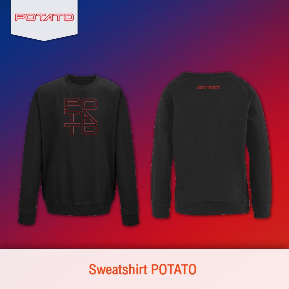 Sweatshirt Potato Magic Hours Concert #POTATO